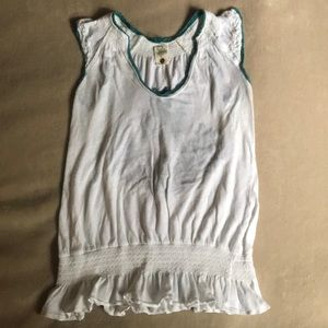 Free People Sleeveless Tee